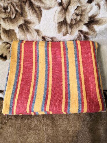 Шерстяной одеяло советское, б/у, 1.5см×1.86см, состояние нормальное