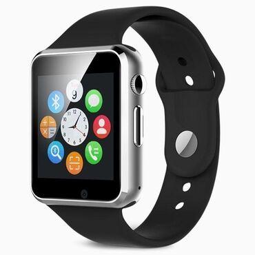 """видео карты в Кыргызстан: Сенсорные смарт часы """"smart watch phone"""" с поддержкой собственной сим"""