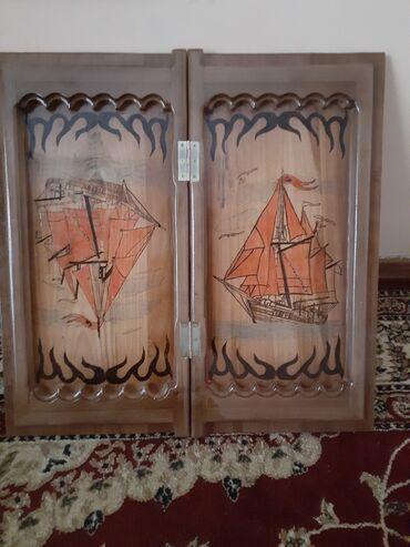 Нарды - Кыргызстан: Продаю нарды ручной работа очень хорошее качество