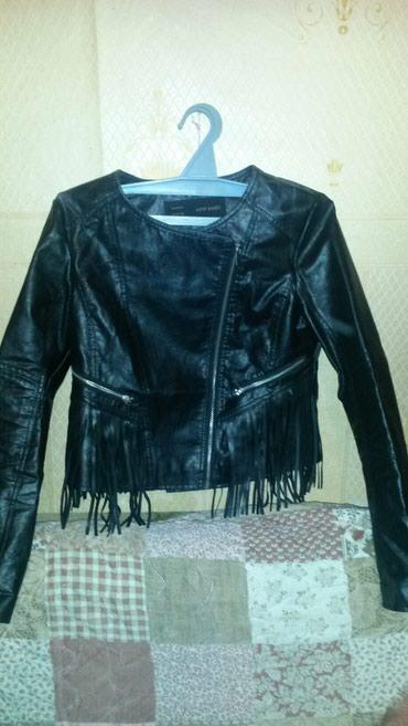 дубленка кожа в Кыргызстан: Куртка кож зам 44 46 разм новая