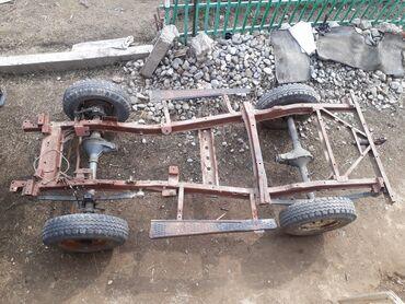 Продаётся рама от ГАЗ 469 и мосты + коробка с раздаткой, двигатель