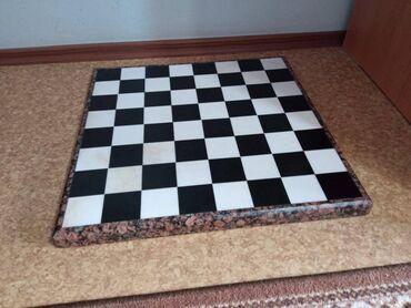 11293 объявлений: Продаю шахматы, доска большая каменная размер доски 57х57 см