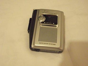 """Diktafon """" panasonik """" mini cassette recorder ( i plejer ) , model rq - Belgrade"""