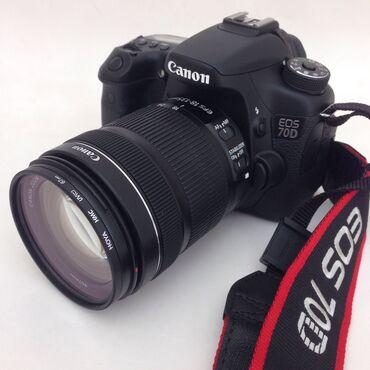 Canon 70 lens 18-135 karobkasi hər birşeyi var ustunde 16gb yadaş qiym