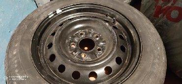 железные диски на 15 в Кыргызстан: Продаю железный диск с летней резиной 1 шт. Диск в очень хорошем