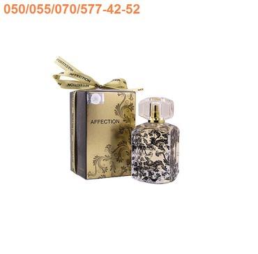 Bakı şəhərində Fragrance World Affection Natural Sprey Eau De Parfum for Women qadın