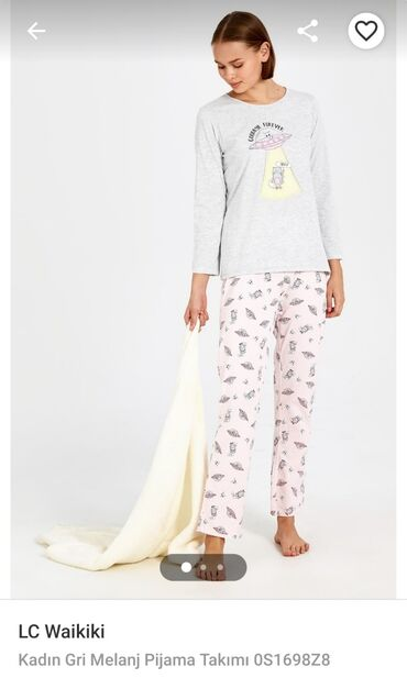 pijama - Azərbaycan: Qadin ucun pijama,LC Waikikiden alinib.Yenidir. Unvan.Ayna Sultanova
