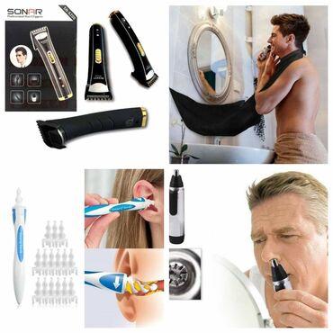 Aparati za brijanje - Srbija: AKCIJSKI TOP SET 4 u 1 - za muškarce2400dinSet uključuje:* Bežična
