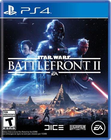 Bakı şəhərində Ps4 üçün battlefront 2 oyun diski satılır