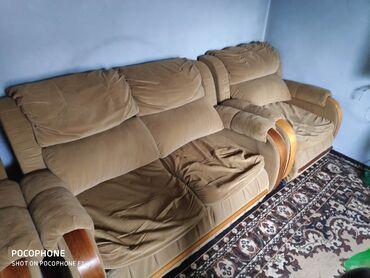продам кресло кровать in Кыргызстан | ДИВАНЫ: Продам мягкую мебель диван - кровать, и два кресло - кровати. Кресла