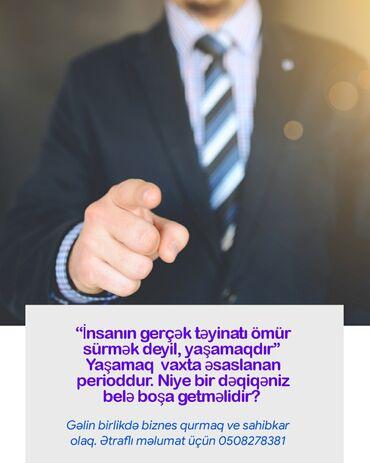 İş - Azərbaycan: Şəbəkə marketinqi məsləhətçisi. Digər şirkət. İstənilən yaş. Natamam iş günü