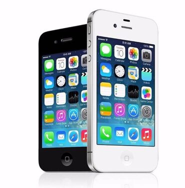 apple 4 s - Azərbaycan: Iphone 4 4sALIRAM Iphone 4 4s AliramXarab ishlek Icloud ekrani xarab