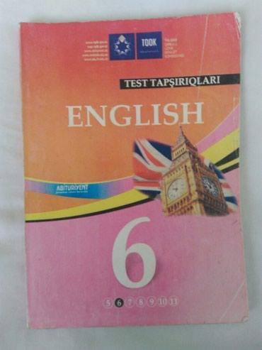 - Azərbaycan: Ingilis dili 6 ci sinif testi kitablar da var. toplular test banklari