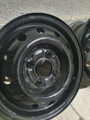 митсубиси бишкек in Кыргызстан | АВТОЗАПЧАСТИ: Продаю железные диски R14 разбалтовка 4.114.3 4х-дырые в отличном