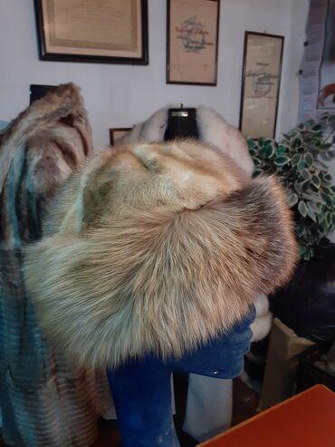 Avo krzno obim - Srbija: Tatarka od lisice i nerca. Obim 58cm. Prirodno krzno