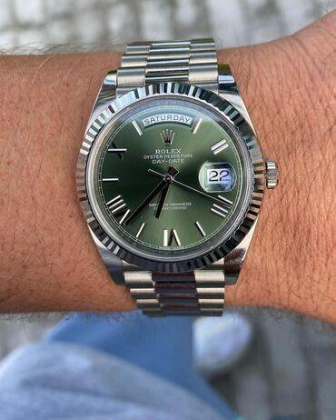 Ev saati - Azərbaycan: Gümüşü Kişi Qol saatları Rolex