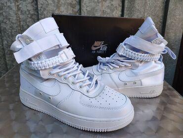 Nike Air Force 1 Special Field All White-Nike Pakovanje41-46   Patike