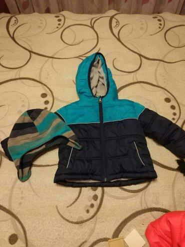 Курточка осенняя теплая 9-12 мес. в отличном состоянии в Бишкек