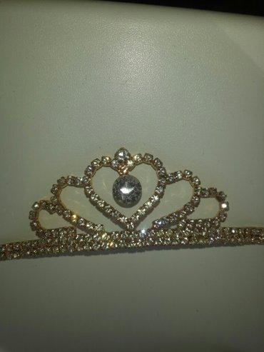 камни все целые. новая корона брала дорого. отдаю за 500сцвет золотой. в Бишкек
