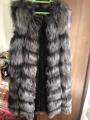 Продаю жилетку из чернобурки, носила в Бишкек