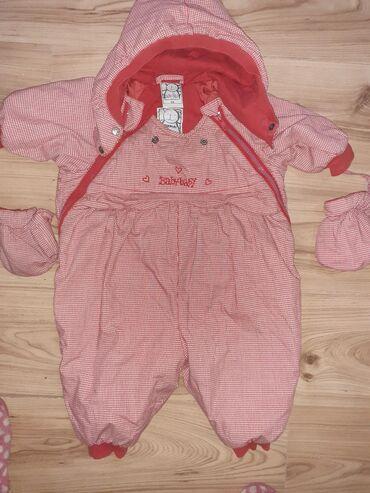 Dečije jakne i kaputi | Varvarin: Skafander Za bebe do godinu dana.Crveni može do nekih 6.7 meseci a