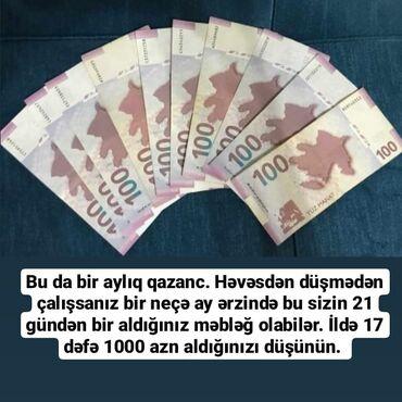 muhafize isi teklif edirem - Azərbaycan: Şəbəkə marketinqi məsləhətçisi. Oriflame. İstənilən yaş. Natamam iş günü