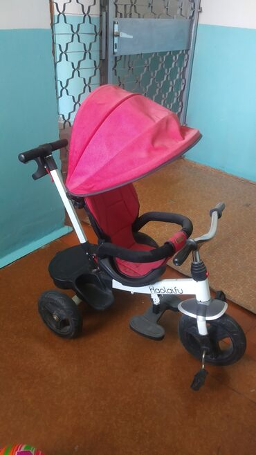 Детский мир - Кыргызстан: Продаю детский велосипед коляска. В отличном состоянии