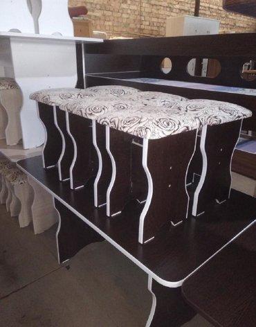 Продаю новый стол Табуретки комплект