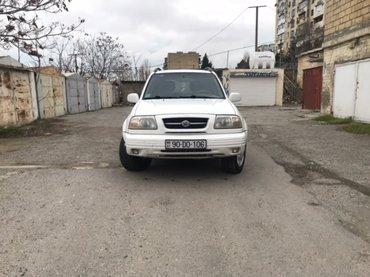 Bakı şəhərində Təcili Satılır.Suzuki Grand Vitara-2000 Ci il-Amerkanka-2.5