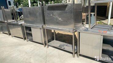нержавейка столы в Кыргызстан: Стол-тумба из нержавейки 22/15001/25 используется на предприятиях обще