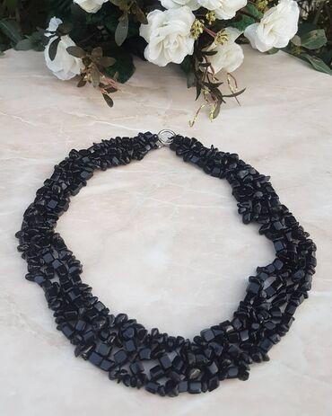 Ожерелье из натурального камня Агат