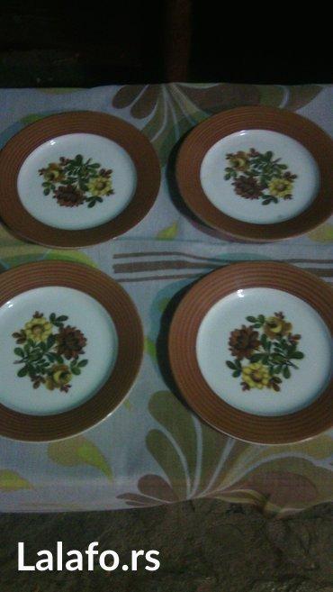 Ostalo za kuću   Cuprija: Porcelanski unikatni tanjiri savrsenog kvaliteta