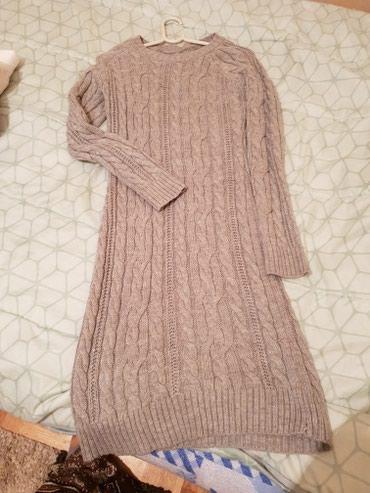 Prelepa siva haljina moze biti i kao tunika ..prelepo stoji jako ke - Belgrade
