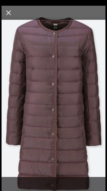 синий dodge в Кыргызстан: Продаю лёгкое пальто Юникло бардового цвета размер М