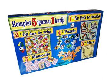 Puzzle - Srbija: Tip igre: Igra na tabliOva vesela kutija sadrži 5 odličnih društevnih