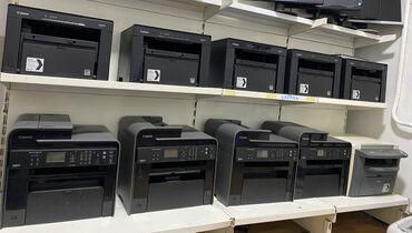 заправка картриджей бишкек in Кыргызстан | ПРИНТЕРЫ: Принтер Принтеры.  Canon MF3010  Canon MF4730  3 в 1 - ксерокопия скан