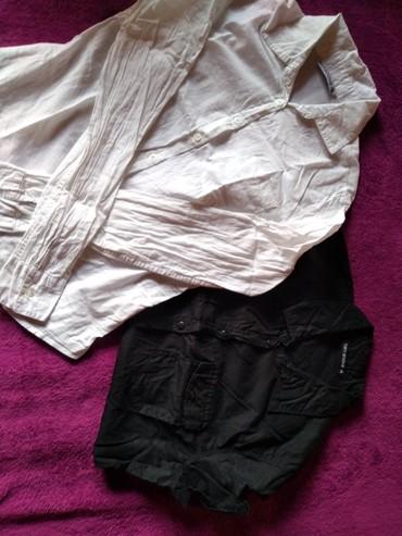 Paket-obodi-majice-i-jedne-kosulje-lepo-odrzane - Srbija: Dve kosulje po ceni jedne