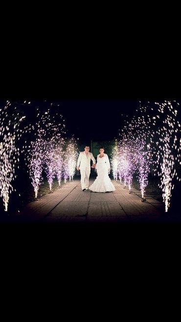 Холодный фонтан.фонтан фейерверк.холодный фонтан для свадеб и тд. в Бишкек