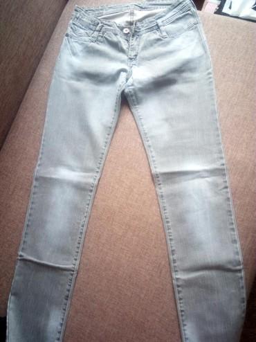 Sive-farmerke-broj - Srbija: Sive farmerke,jednom nošene.Veličina W30 L32. Veoma lepe