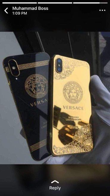 Именные Iphone от 6 до X Max  из золота. в Бишкек