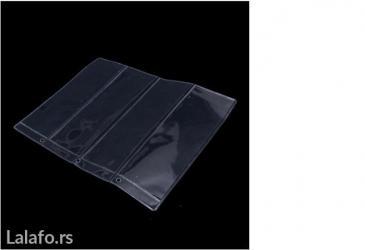 Lisca sa - Srbija: Albumski listovi za novcanice sa 4 dzepa, dimenzije 180x60cm, sa 4