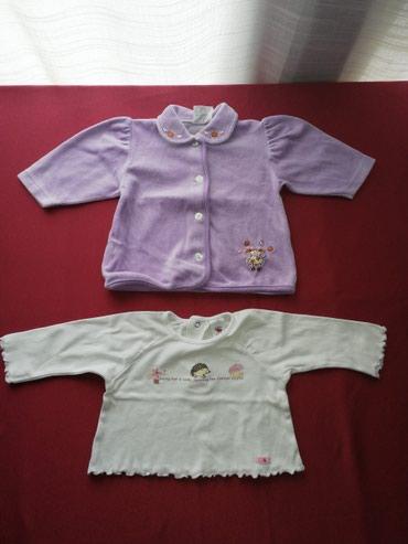 Garderoba za bebe devojčice velicina 68, jaknica i bluzica. U ponudi - Vrnjacka Banja