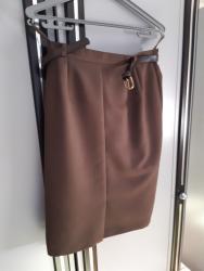 Suknja-svilena-broj - Srbija: Escada suknja,40 brojpotpuno nova