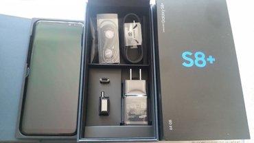 Bakı şəhərində Samsung s8+ plus 64gb black, 1 hefte islenilib, ideal veziyette. Plenk