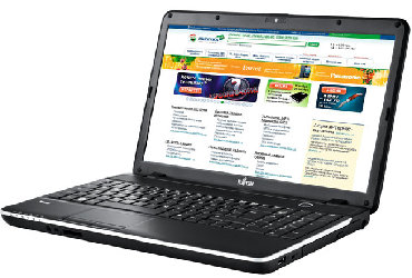 fujitsu esprimo в Азербайджан: Model Fujitsu Simens LiFeBook AH 513Cpu İntel Core İ3 2328 M (2ci