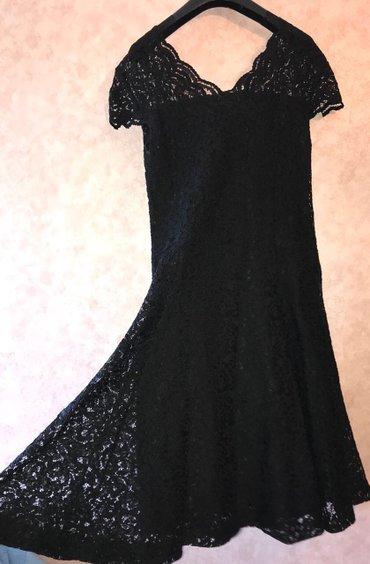 Bakı şəhərində Платье, в отличном состоянии, производство ТУРЦИЯ, размер 42/44, гипюр