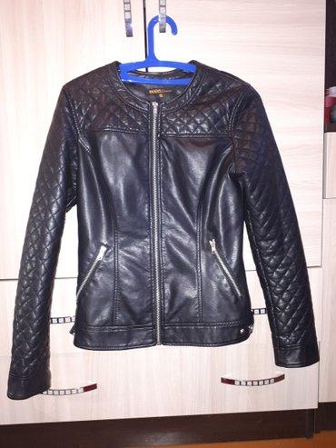 Новая кожаная куртка  размер  s,m в Лебединовка