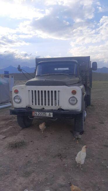 Купить грузовик до 3 5 тонн бу - Кыргызстан: Газ 53 Абалы жакшы торт донголок жаны уч капталы ачылат  Женил машина