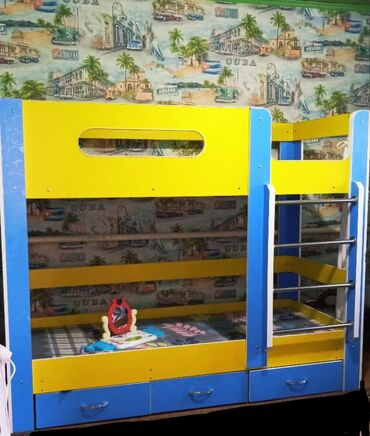 13 объявлений: Продаю двухяростную детскую кровать!