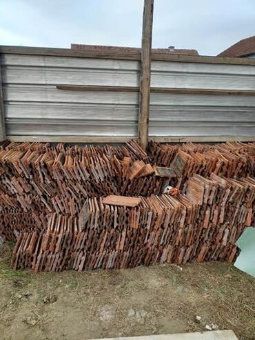 Crep - Srbija: Drva, cigla, crep, gradja. Prodajem otpadna drva za loženje sa